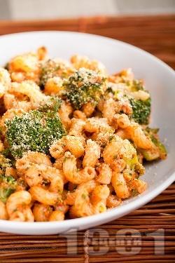 Паста с броколи и орехи - снимка на рецептата